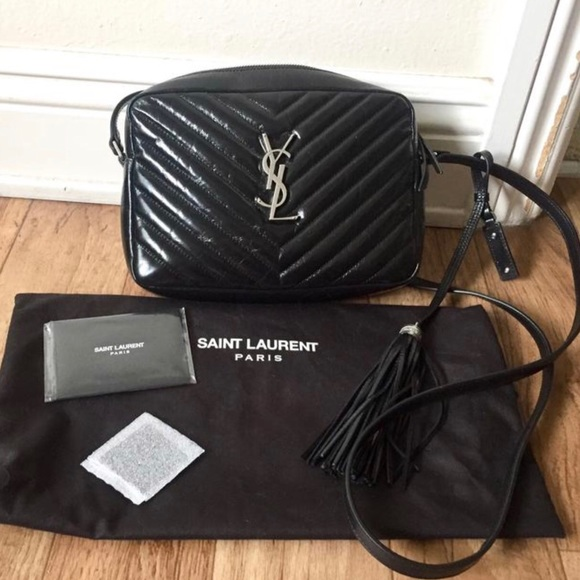 YSL matelasse crossbody camera bag NWT
